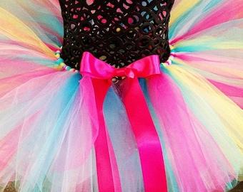 Lollipops Tutu, Multi colored tutu, bright tutus, Newborn Tutu, Baby Tutu, Cake Smash tutus, custom tutu, 1st birthday tutus, birthday tutu,