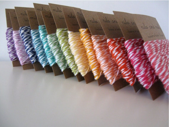 Baker's Twine Clearance SALE. 100 Yards Total. You Choose Colors.