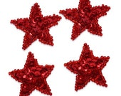 Star Sequin Applique Set
