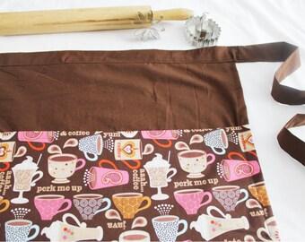 Coffee and Chocolates Adult Apron