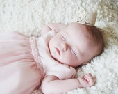 Small Gold Lace Crown, Princess Crown, Party Favor, Photo Prop, Flower Girl, Cake Topper