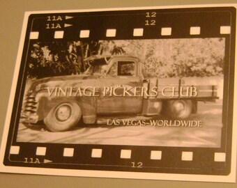 Vintage Pickers Club  decal
