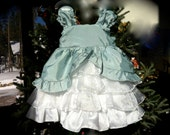 princess flower girl cinderella marie antoinette dress