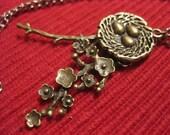 Brass Birdnest Version One Necklace
