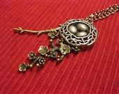 Silver Birdnest Version Two Necklace