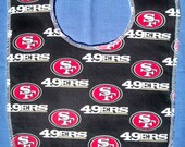 49er bib Raiders baby bib,infant 49er bib, Raider infant bib,49er accessories,baby 49er