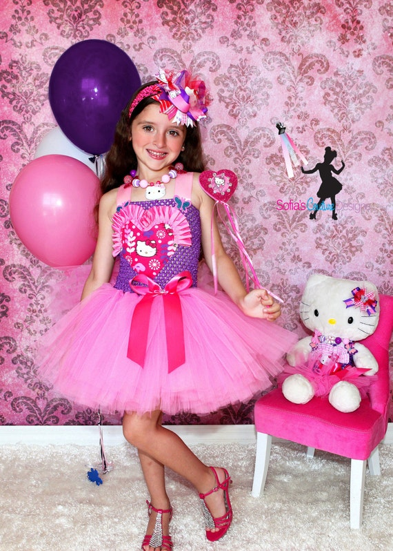 Birthday pink Hello Kitty dress