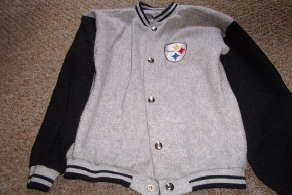 vintage boys clothes jacket pittsburgh steelers by