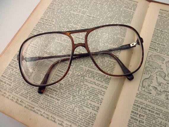 Large Frame Tortoise Shell Glasses : large Silhouette tortoise shell eyeglass frames glasses