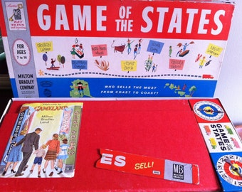 Vintage Game of the states