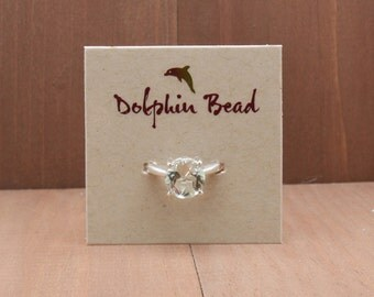 100 Custom Ring display cards printed with your logo