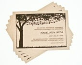 Wedding Invitation - String Lights