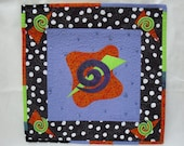 Contemporary Art Quilt - Wild Play VI