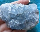 Beautiful Blue Celestite Cluster