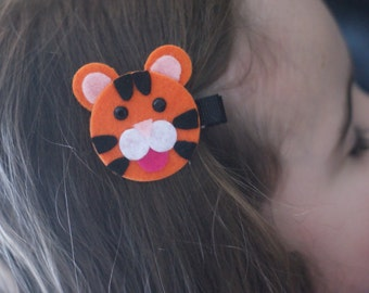 Tiger Hair Clip - Meet Miss Talia