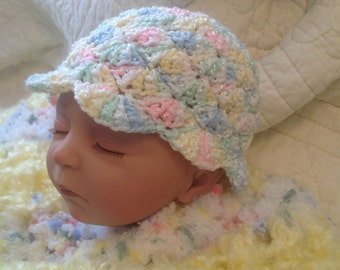 Multicolor Sun Hat for Baby