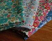 4 Pieces Liberty Betsy Tana Lawn Fabric
