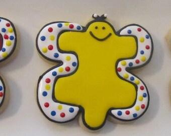 Autism butterfly cookies 2 dozen