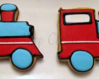 Train Cookies 3 dozen