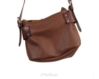 Moccasin Leather Purse/Bag/Tote