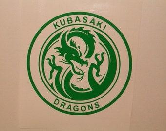 Kubasaki / East Coast Dragons Vinyl Auto Decal