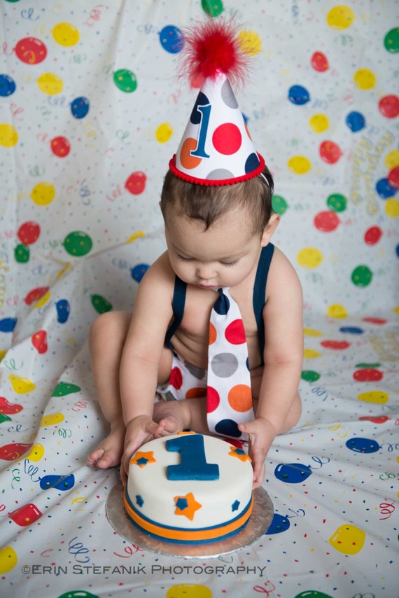 Baby Boy Toddler Cake Smash Birthday Outfit Including A