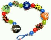 Squiggly Heart Bracelet