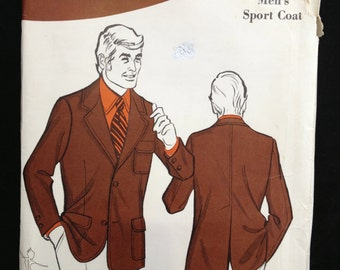 Sew-Knit-n-Stretch 329 Mens Sport Coat