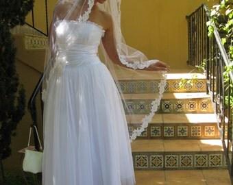 wedding veils/bridal veils/lace veils/manitlla veils/veils/veil