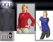 Vogue Pattern V2967 Today's Fit by Sandra Betzina  OOP OSZ