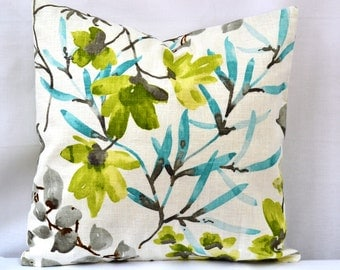 """Decorative Throw Pillow, Collection by Braemore, """"Gazebo, Cloud"""",(Cover only)"""