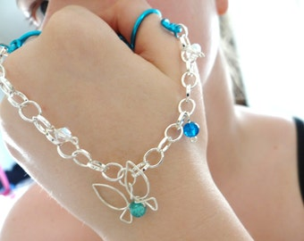 Hint Giving Navi Fairy Legend of Zelda® Double Chain Ring