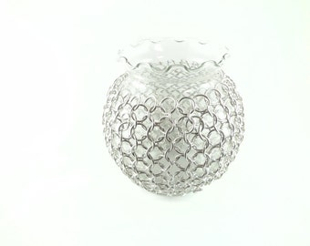 Large Chainmaille Candle Holder