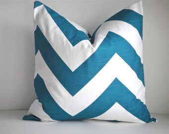Decorative Pillow Cover In Zippy Aquarius-Front and Back, Available in Different Sizes