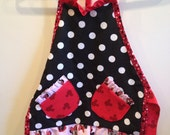 2-4 Toddler Minnie Mouse Apron