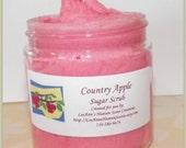 Country Apple Sugar Scrub 4 ounce