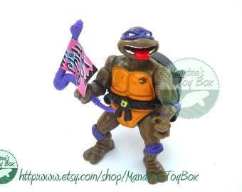 CLEARANCE TMNT Action Figure: Talkin Donatello 90s Action Figure