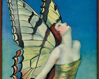 1923 Life Magazine Cover by Wladyslaw Benda