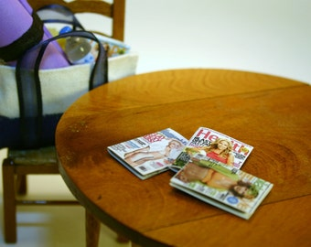 Miniature Health and Fitness Magazines