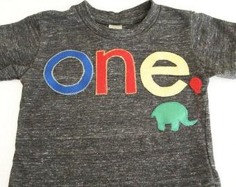 Primary colors zoo animal circus carnival shirt Birthday shirt elephant Customize colors Boys Girls Organic Blend first birthday shirt