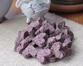 Bella Rose and Mini Cooper's most favorite Blueberry & Hay Bunny Treats