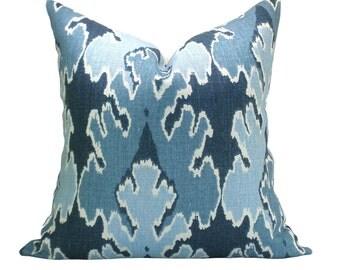 Kelly Wearstler Bengal Bazaar pillow cover in Teal