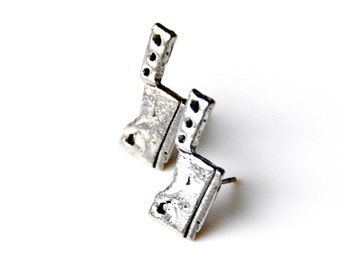 Cleaver Stud Earrings - Accessories - Women's Jewelry - Gift Idea - Handmade - Gift Box Included