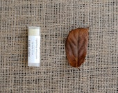 Earl Grey Lip Balm - Beeswax, Cocoa Butter, Almond Oil, All Natural, Autumn, Fall