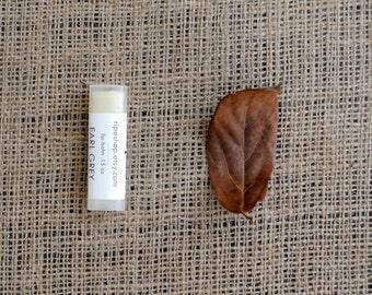 Earl Grey Lip Balm - Beeswax, Cocoa Butter, Almond Oil, All Natural, Autumn, Fall