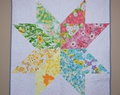 Vintage Sheet Starflower Quilt Kit