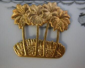 Palm Tree Stampings (2 pc)