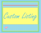 Custom listing for Miranda Henning