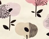 SALE - Broome Street Floral - Light Tea Pink from Alexander Henry