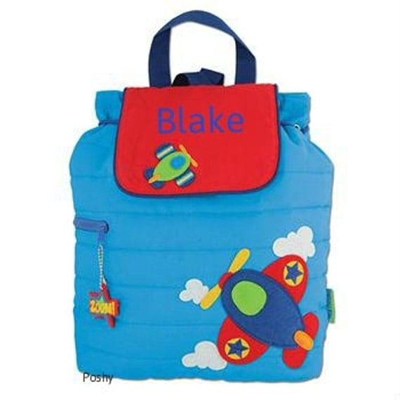 personalized boy backpack or baby diaper bag stephen joseph. Black Bedroom Furniture Sets. Home Design Ideas